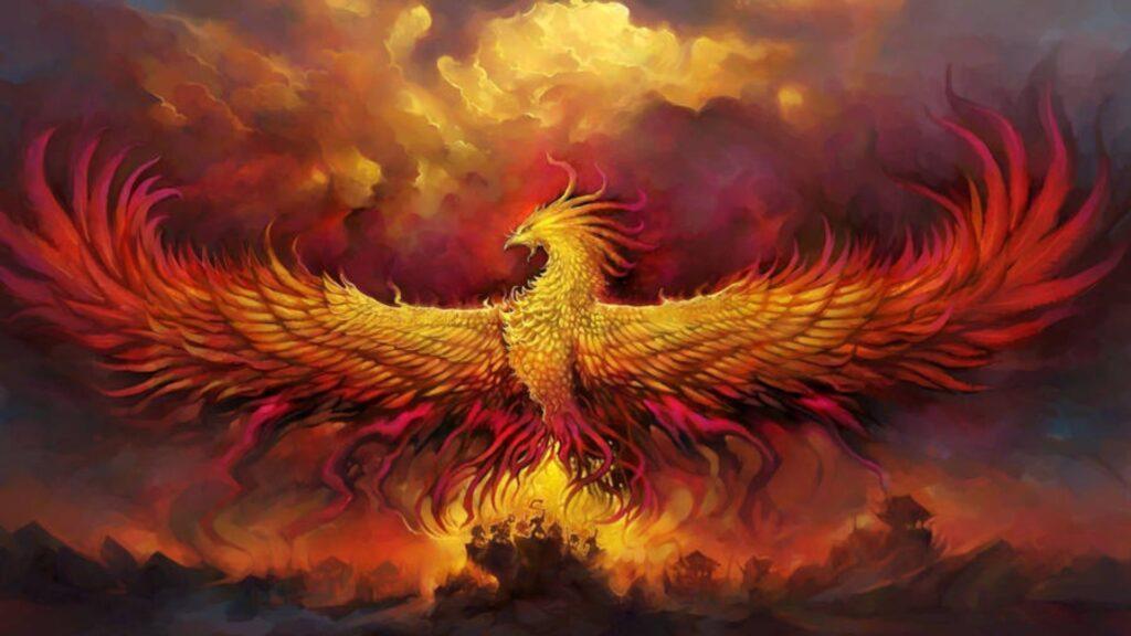 phoenix wallpaper 4k