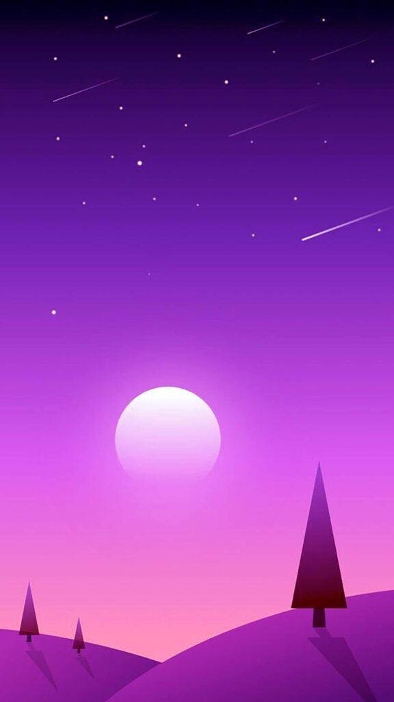purple mobile wallpaper