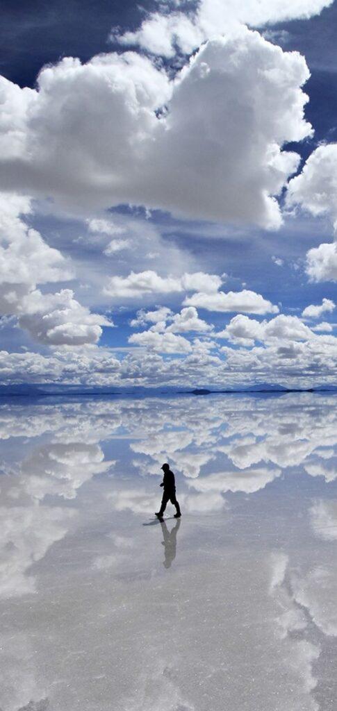 reflection wallpaper