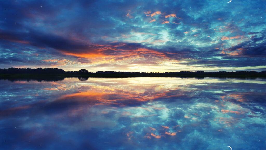 reflection4k wallpaper hd