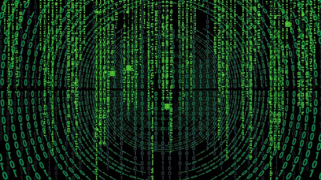 the matrix 4 computer background
