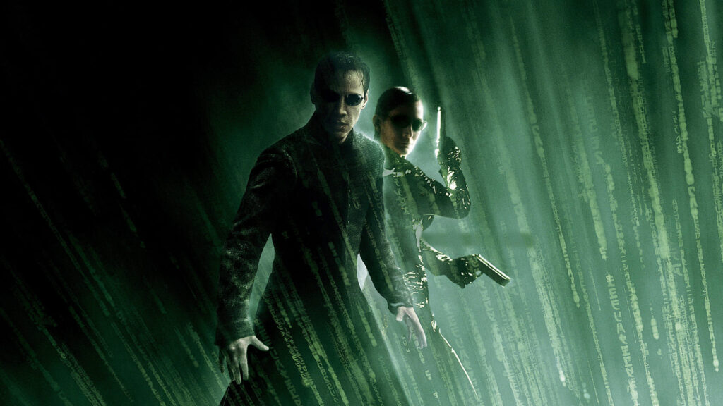 the matrix 4 pc background