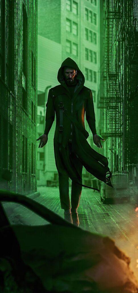 the matrix 4 wallpaper