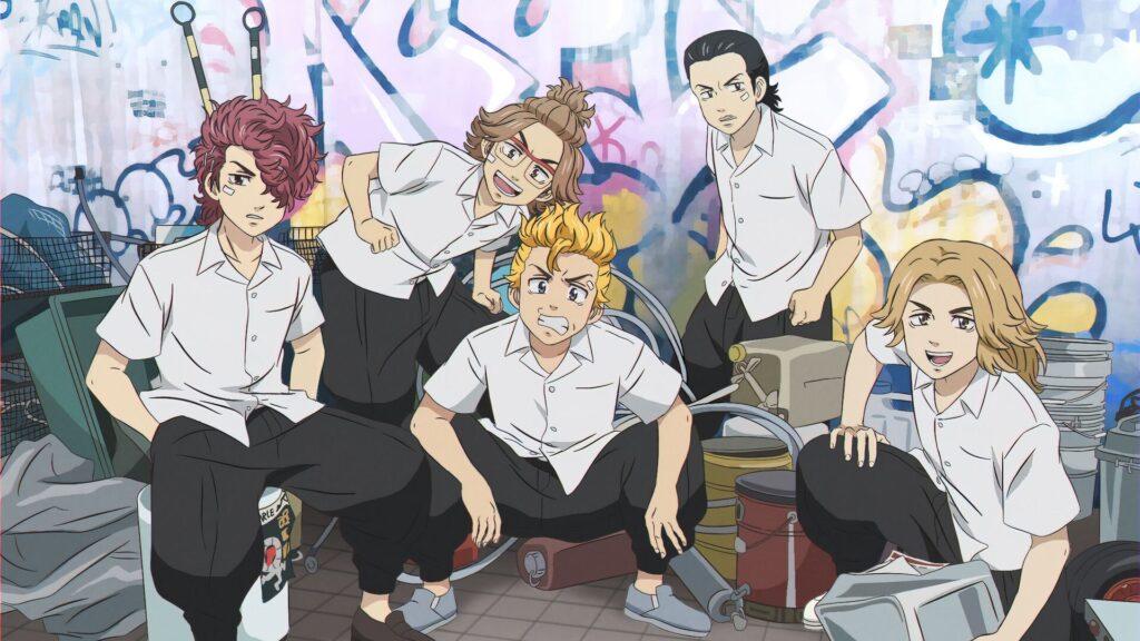 tokyo revengers background photos