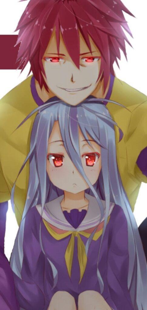 wallpaper sora and shiro