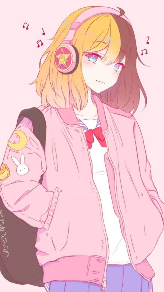 anime girl wallpaper download