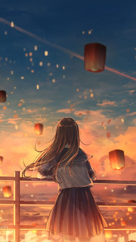 anime girl wallpaper free
