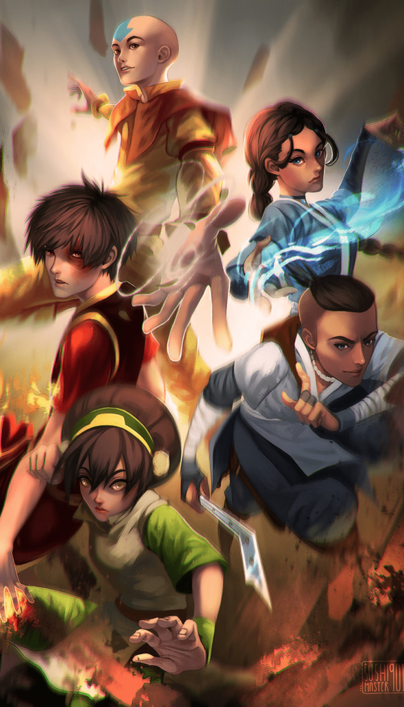avatar the last airbender backgrounds wallpaper