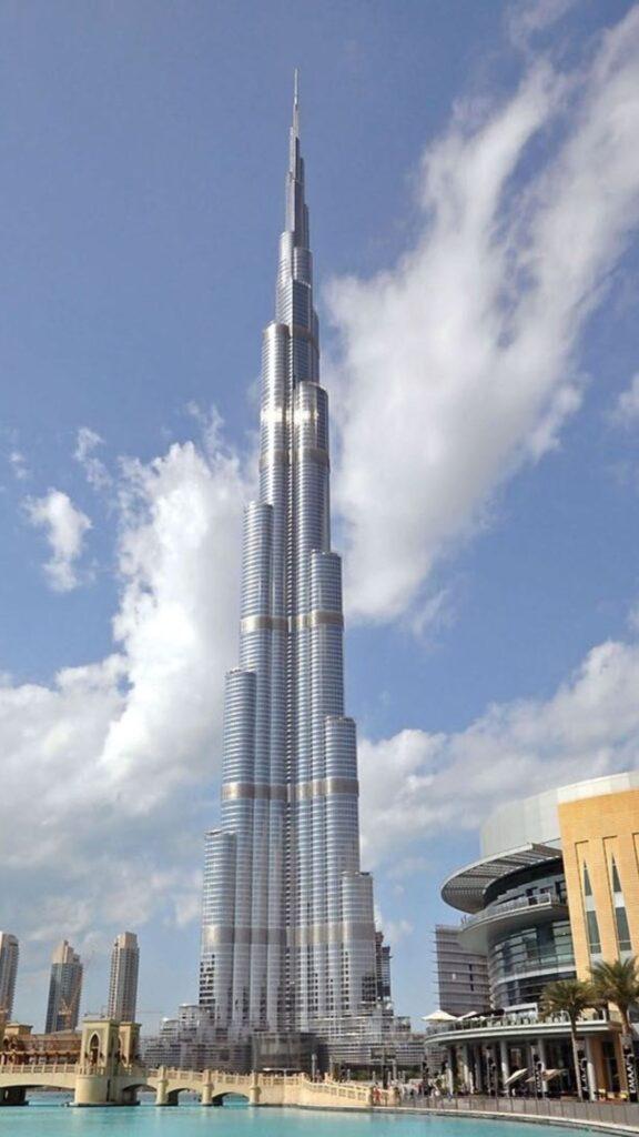 burj khalifa mobile wallpaper