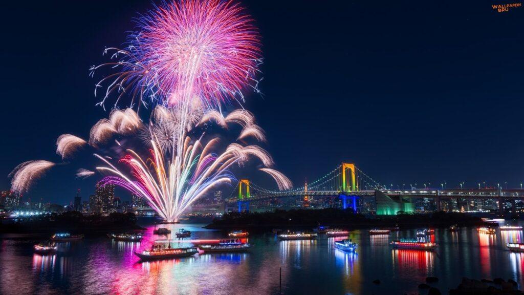 fireworks backgrounds