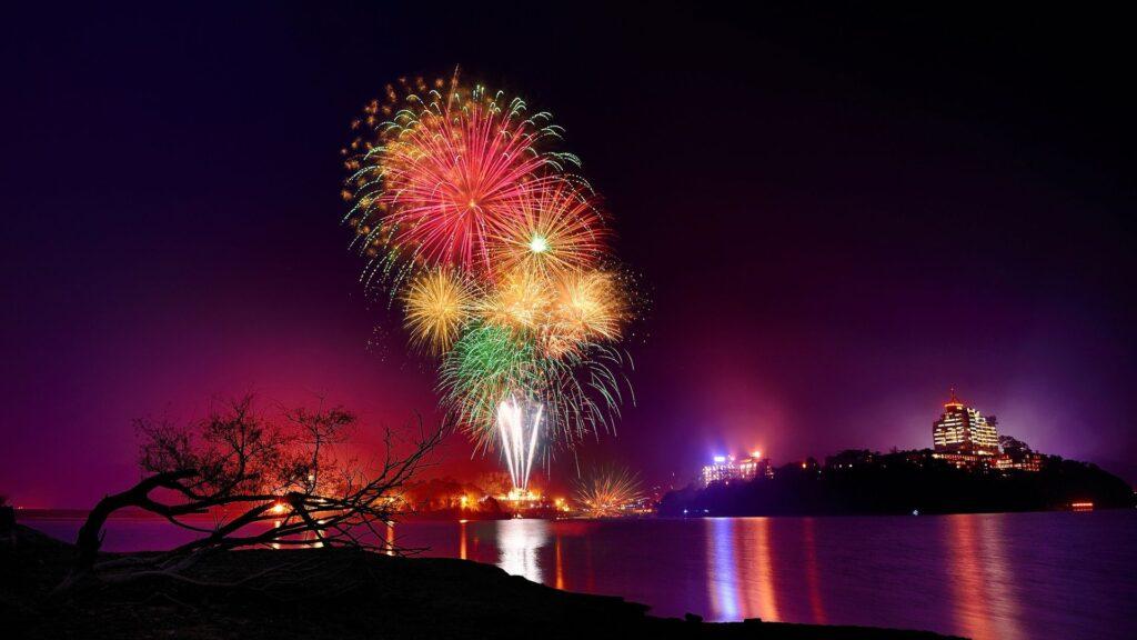 fireworks computer wallpaper