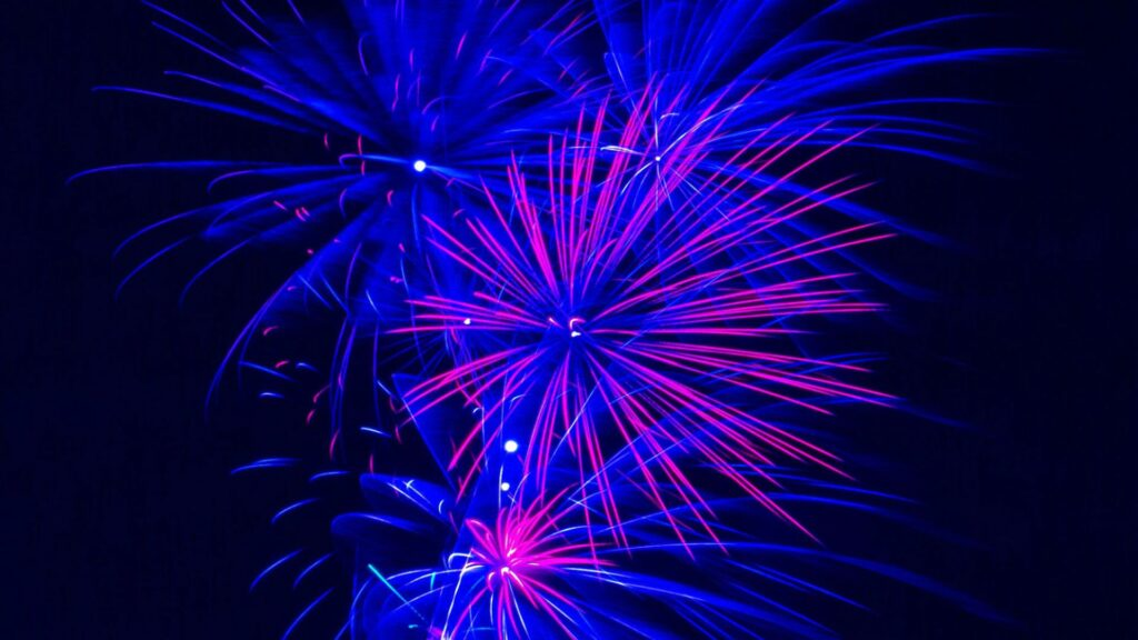 fireworks laptop wallpaper