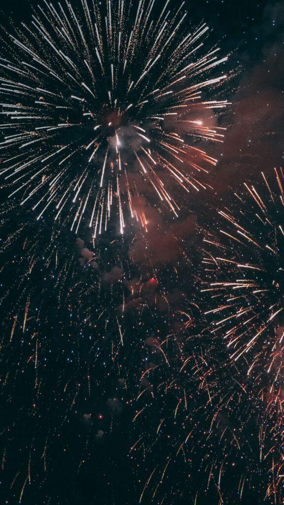 fireworks phone wallpaper
