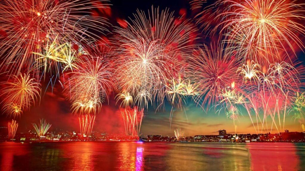 fireworks wallpaper 4k