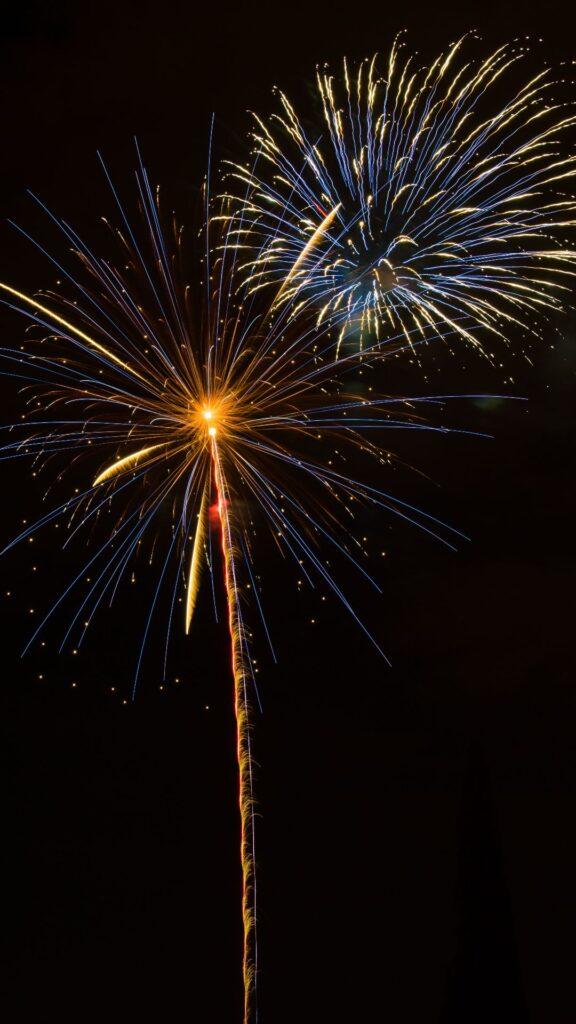 fireworks iphone wallpaper