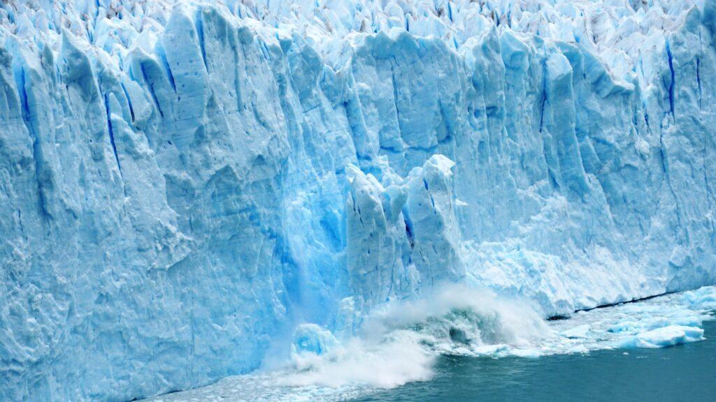 glacier computer wallpaper