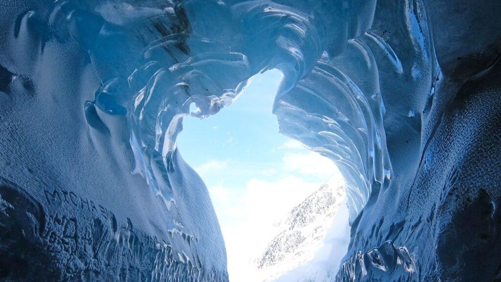 glacier desktop wallpaper