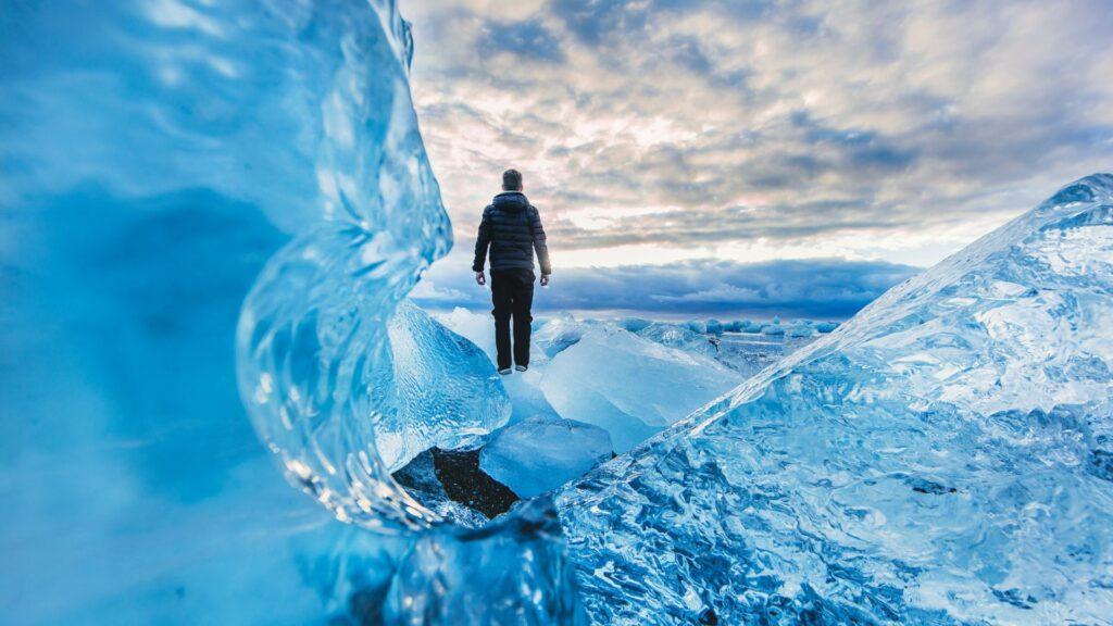 glacier wallpaper 4k