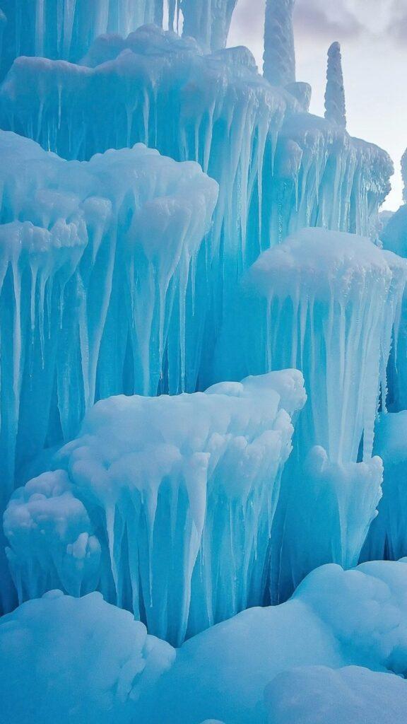 glacier iphone wallpaper