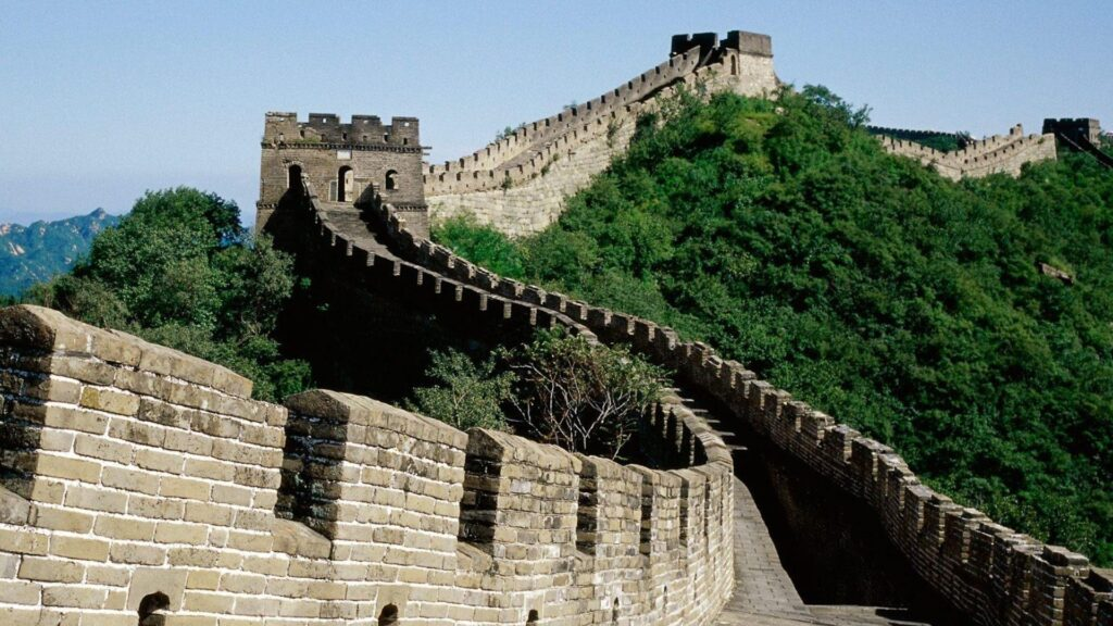 great wall of china pc wallpaper