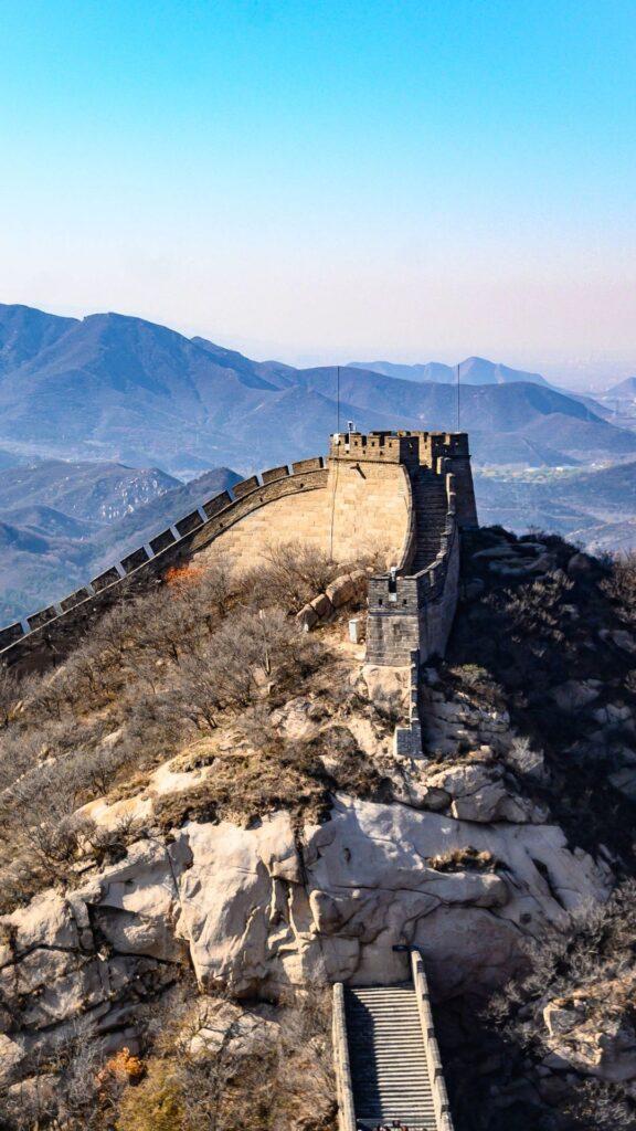 great wall of china iphone wallpaper