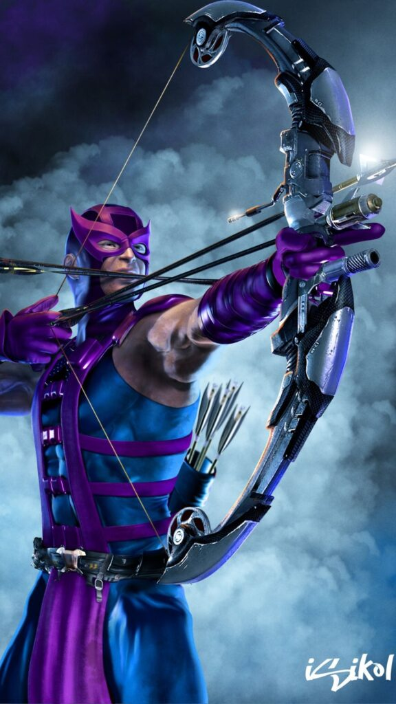 hawkeye android wallpaper